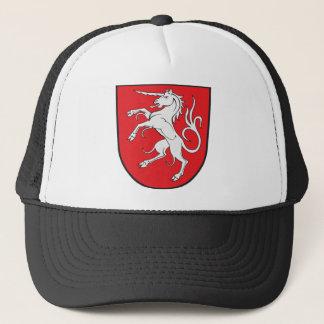 Unicorn Coat of Arms - Schwabisch Gmund Germany Trucker Hat
