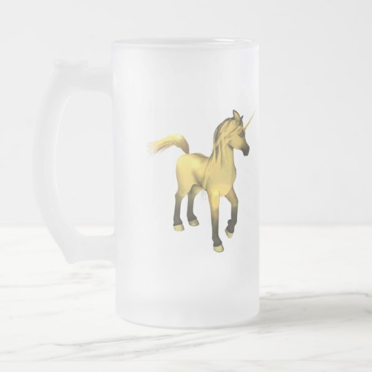 Unicorn Colt Frosted Mug
