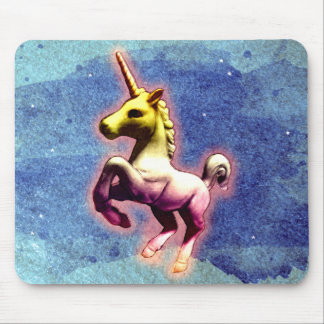 Unicorn Computer Mouse Pad (Galaxy Shimmer)