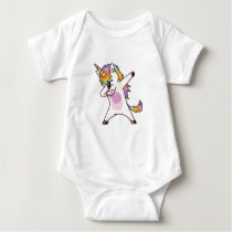 Unicorn Dabbing , gifts for girls Baby Bodysuit