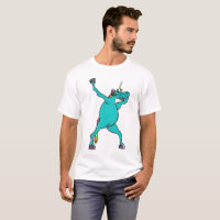 Unicorn Dabbing T-Shirt