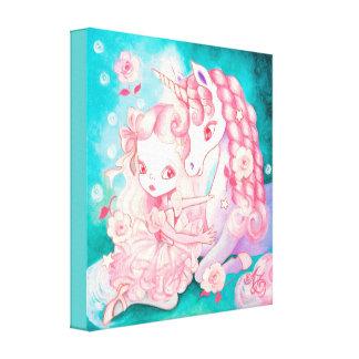 Unicorn Delight Canvas Print