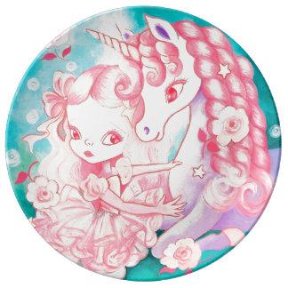 Unicorn Delight Dinner Plate