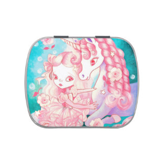 Unicorn Delight Jelly Belly Candy Tins