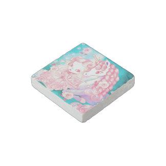 Unicorn Delight Stone Magnet