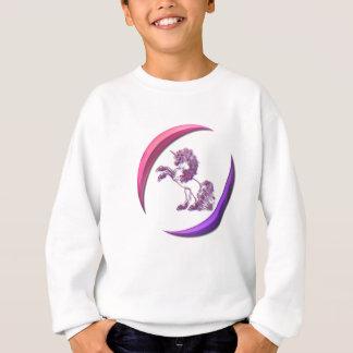 Unicorn Design Girl's Sweatshirt