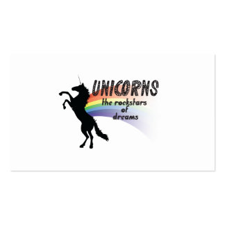 Unicorn Double-Sided Standard Business Cards (Pack Of 100)