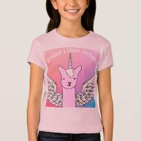 Unicorn  Drama T-shirt for girls