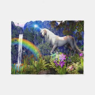 Unicorn Dream Fleece Blanket By DreamFlame 5D