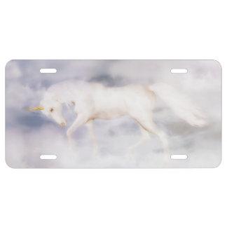 Unicorn Dream License Plate