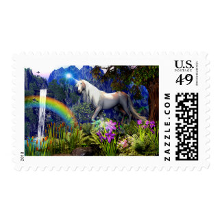 Unicorn Dream Postage Stamp By Dreamflame 5D