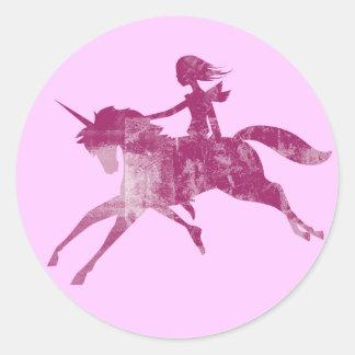 Unicorn Dream Rider Sticker