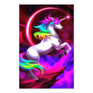 Unicorn Dream Stationery