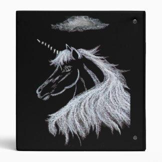 Unicorn Dreams 3 Ring Binder