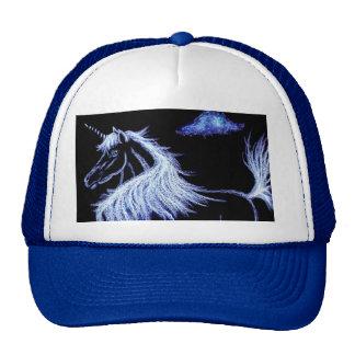 unicorn dreams blue hat