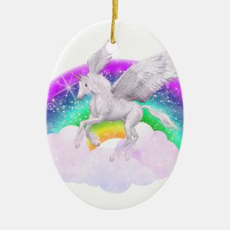 Unicorn Dreams Ceramic Ornament