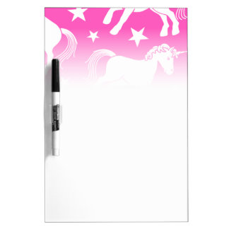 Unicorn Dry Erase Board