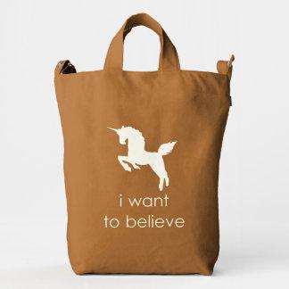 unicorn duck bag