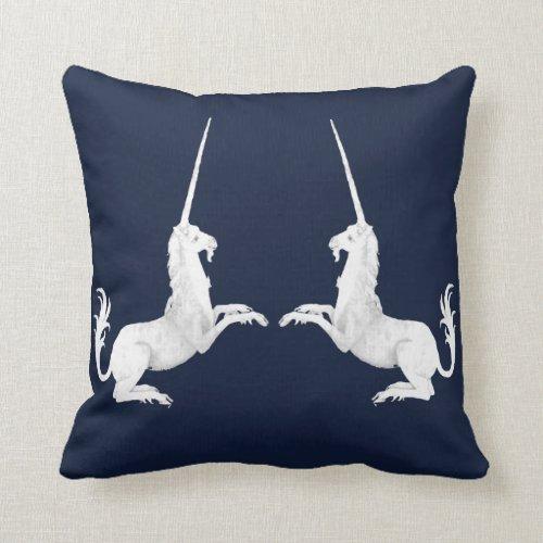 Unicorn - unicorn throw pillow