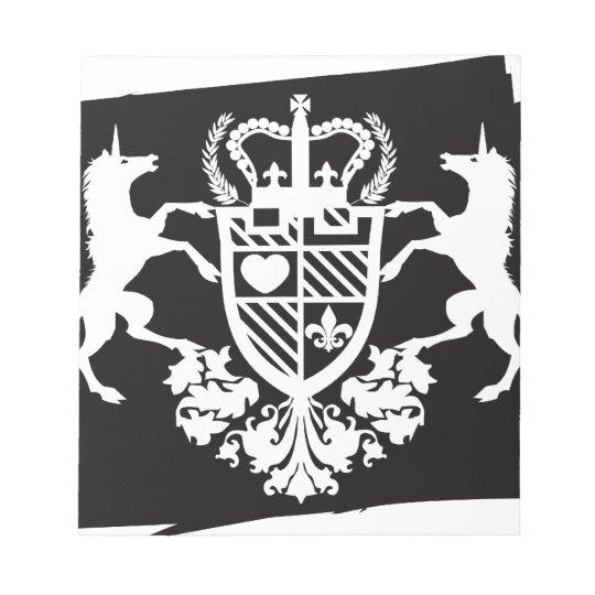 Unicorn_Emblem Bloc De Notas
