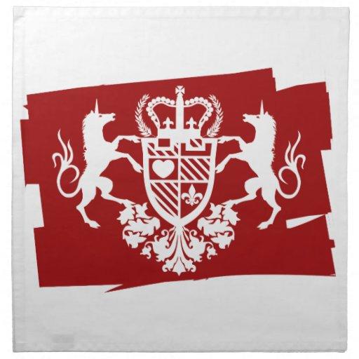 Unicorn_Emblem Servilleta