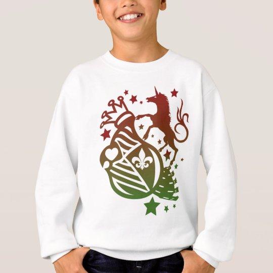 Unicorn_Emblem Sweatshirt