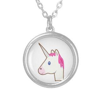 Unicorn emoji necklace