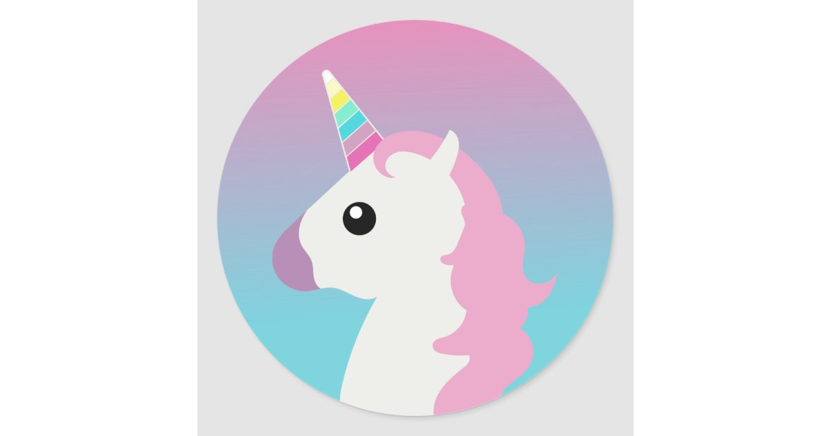 unicorn emoji ombre stickers zazzle com sesame street clip art houses sesame street clip art banner
