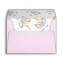 Unicorn Envelope Magical Unicorn Birthday Party