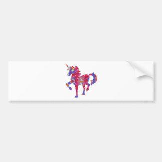 UNICORN :  Exotic Adventure Animal World Graphic Bumper Sticker