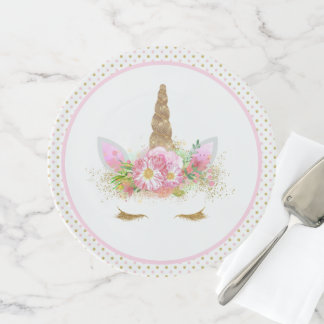Unicorn Face Unicorn Cake Stand