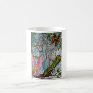 UNICORN FAERIE Caterpillar Mug