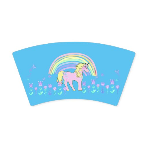 Unicorn Fairy tale Birthday Party Plates