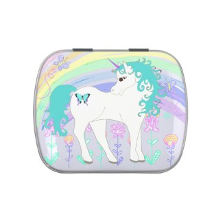 Unicorn Fairy Tale Candy Tins Party Favors