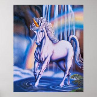 Unicorn Falls Poster Poster