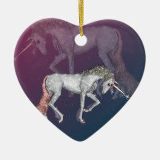 Unicorn Fantasy Ceramic Ornament