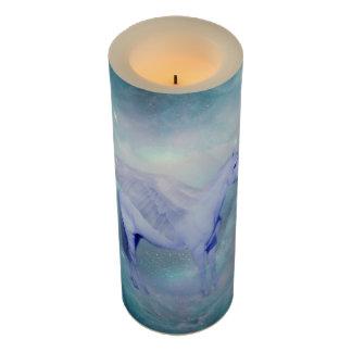 Unicorn fantasy flameless candle