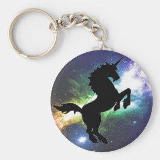 Unicorn fantasy keychain basic round button keychain