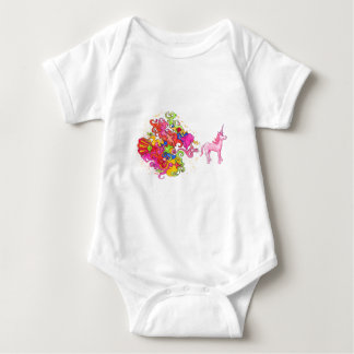 Unicorn Fart Baby Bodysuit