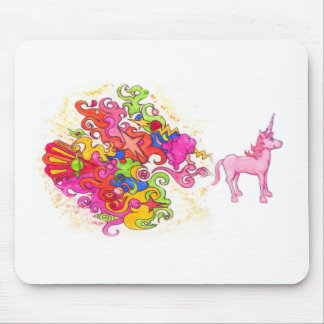 Unicorn Fart Mouse Pad