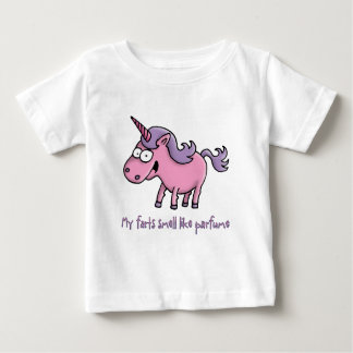 unicorn farts smell like parfume baby T-Shirt