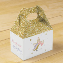 Unicorn favor boxes, Birthday party decorations Favor Box