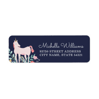 Unicorn Fields Return Address Labels
