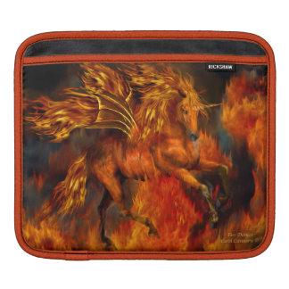 Unicorn - Fire Dancer Art iPad Sleeve