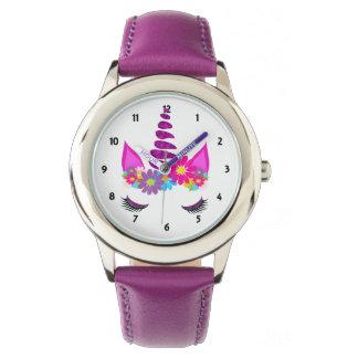 Unicorn Flowery Super Cute Girly Wrist Watch