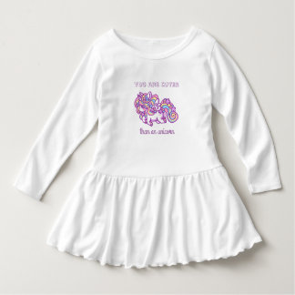 Unicorn for baby dress