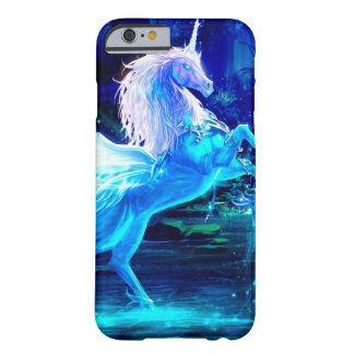 Unicorn Forest Stars Cristal Blue Barely There iPhone 6 Case