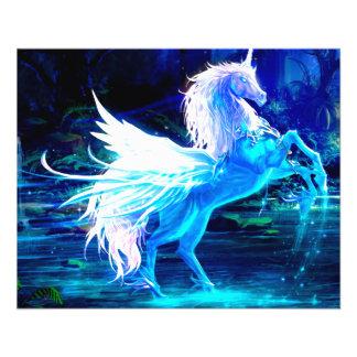 Unicorn Forest Stars Cristal Blue Flyer