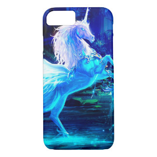 Unicorn Forest Stars Cristal Blue iPhone 8/7 Case