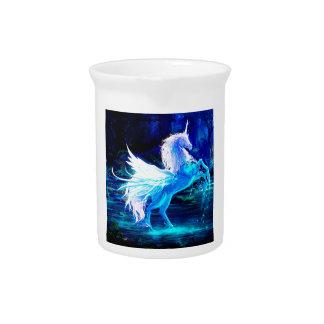 Unicorn Forest Stars Cristal Blue Pitchers
